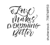 love makes everything better...