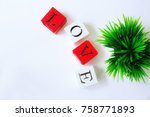 love message box | Shutterstock . vector #758771893