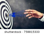 concept of for profit business... | Shutterstock . vector #758815333