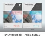 covers design with space for... | Shutterstock .eps vector #758856817