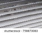 dirty filter cyclonic vacuum... | Shutterstock . vector #758873083