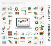 infographics design elements... | Shutterstock .eps vector #758959417
