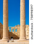 Ancient Marble Columns Of The...