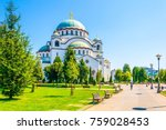 View Of The Saint Sava...