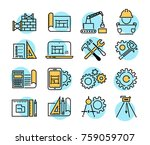 engineering and manufacturing... | Shutterstock .eps vector #759059707