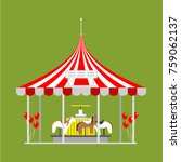 circus show entertainment tent... | Shutterstock .eps vector #759062137