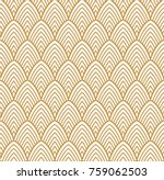 vintage art deco seamless...   Shutterstock .eps vector #759062503