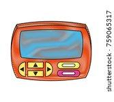 portable videogame console icon ...   Shutterstock .eps vector #759065317