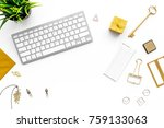 fashoin in the workplace.... | Shutterstock . vector #759133063