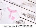 infant kids cute summer clothes....   Shutterstock . vector #759156217