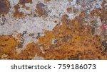 rust metal rust background ... | Shutterstock . vector #759186073