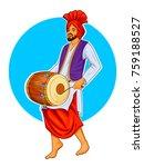Illustration Of Sikh Punjabi...