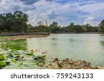 myanmar pagoda 3   Shutterstock . vector #759243133