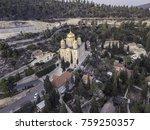 moscovia gorny monastery church ... | Shutterstock . vector #759250357