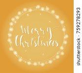wonderful and unique festive... | Shutterstock .eps vector #759278293