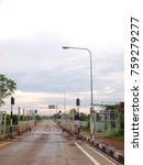 street crossing national border ...   Shutterstock . vector #759279277
