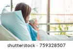 illness asia patient women and... | Shutterstock . vector #759328507