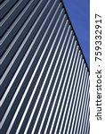 industrial corrugated steel... | Shutterstock . vector #759332917