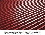 industrial corrugated steel... | Shutterstock . vector #759332953