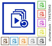 undo last playlist operation... | Shutterstock .eps vector #759370543