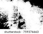 grunge black and white seamless ... | Shutterstock . vector #759376663