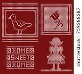 Cross Stitch Pattern Design Se...
