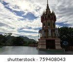 the temple in thailand | Shutterstock . vector #759408043