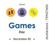 vector illustration for games... | Shutterstock .eps vector #759427603