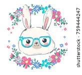 hand drawn vector illustration... | Shutterstock .eps vector #759444247