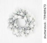 white christmas background. ...   Shutterstock . vector #759489673