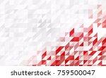 dark orange vector geometric... | Shutterstock .eps vector #759500047