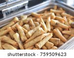 snack food with coffee. | Shutterstock . vector #759509623