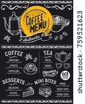 coffee drink menu for
