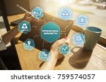 personal growth and development ...   Shutterstock . vector #759574057