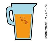 juice glass pot icon | Shutterstock .eps vector #759574873