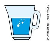 juice glass pot icon | Shutterstock .eps vector #759579157