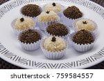 traditional brazilian sweet ... | Shutterstock . vector #759584557