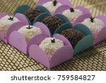 traditional brazilian sweet ... | Shutterstock . vector #759584827