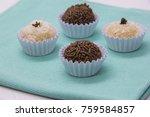 traditional brazilian sweet ... | Shutterstock . vector #759584857