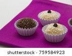 traditional brazilian sweet ... | Shutterstock . vector #759584923