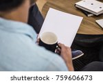 business team work with reports | Shutterstock . vector #759606673