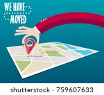 we have moved  changed address