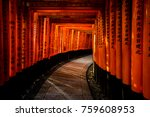 kyoto  japan   2017 november 16 ... | Shutterstock . vector #759608953