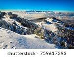 mountain ski resort  romania...   Shutterstock . vector #759617293