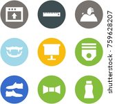 origami corner style icon set   ... | Shutterstock .eps vector #759628207