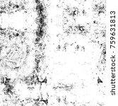 grunge black and white pattern. ...   Shutterstock . vector #759631813