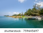 havelock island  andaman and... | Shutterstock . vector #759645697