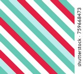 seamless pattern in christmas... | Shutterstock .eps vector #759668473
