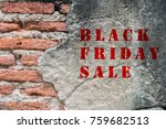 red black friday sale on old...   Shutterstock . vector #759682513