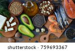 composition of products... | Shutterstock . vector #759693367